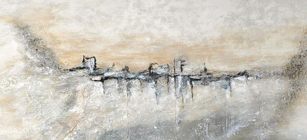 œuvre d'art peinture Acrylique 100x50